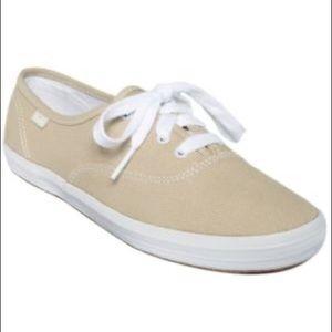 Khaki Tennis Shoe